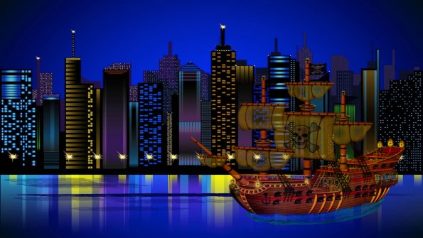 FreeVector-Big-City-Graphics&Pirate_1920x1080